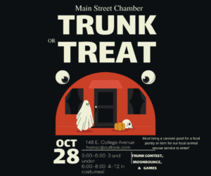 Trunk or Treat @ Holly Springs Main Street Chamber